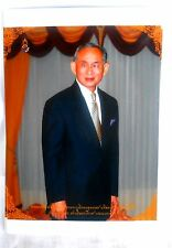 Bild picture König King Bhumibol Adulyadej RAMA IX Thailand 15x10 cm  (s11