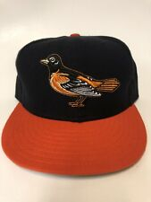 Vintage Baltimore Orioles New Era Fitted 7 3/8 Cap Hat NWOT
