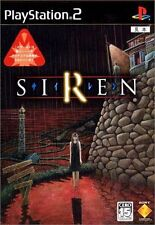 Used PS2 SIREN    SONY PLAYSTATION JAPAN IMPORT