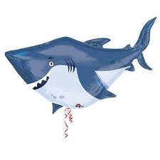 "Amscan 24"" Ocean Buddies Shark Original Balloon Sea Themed Decoration Party"