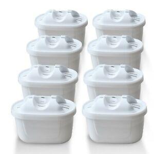 8x Delfin Filter mit Brita Maxtra Plus kompatible Wasserfilter Kartusche