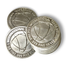 1 oz .999 Silver Rounds; Lot of 20 - International Trade Bullion (ITB)