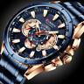 Curren Men Chronograph Waterproof Calendar Date Original Quartz Wrist Watch 8363