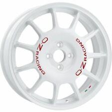 OZ RACING LEGGENDA RACE WHITE RED LETTERING ALLOY WHEEL 17X7 ET30 4X100