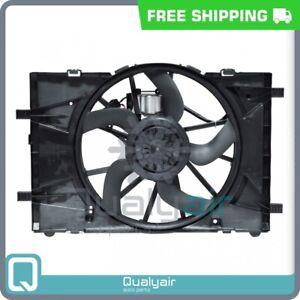 AC Radiator-Condenser Fan fits Ford Fusion / Lincoln MKZ / Mercury Milan QU