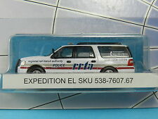 RIVER POINT STATION 7607.67 FORD EXPEDITION RAIL TRANSIT POLICE 1:87