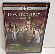 Downton Abbey Season 2 TWO SECOND DVD 3-Disc Set NEW SEALED FREE SHIPPING