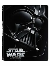 STAR WARS : A NEW HOPE  (STEELBOOK) -  Blu Ray - Sealed Region free