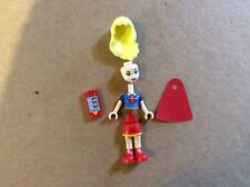 New Lego Super Hero Girls Supergirl Minifigure with Cape from 41232 Unassembled
