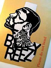 "CHRIS BROWN,Original Pop Art,Sticker 6""X 9"" inches Music Celebritities Portrait"