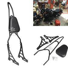 Sissy Bar Upright Passenger Backrest w/ Pad for Harley Sportster XL1200 Custom