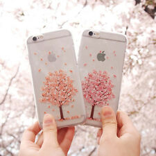 Cherry Blossom Clear Jelly Case iPhone 7/8 Case iPhone 7/8 Plus Case 7 Types