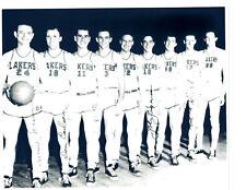 1955 MINNEAPOLIS LAKERS  TEAM  PHOTO  BASKETBALL NBA MIKAN