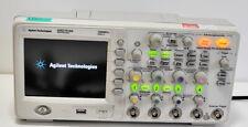 Agilent dso1014a 4 Canal 100 MHz 2gs/s oscilloscope RG. INCL. TVA.