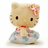 Hello Kitty Plush Doll HAWAII IOLANI Collection Limited F/S New with tag Rare