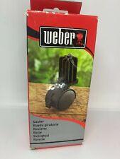 Weber Replacement Caster Wheel BBQ Grill w/Insert Spirit, Genesis Platinum&Gold