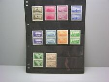 American Bank Note Eaton's Fine Letter Paper 10 Stamp Blocks of Two  Set MNH