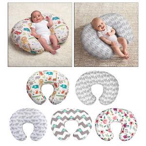 Cuscino per allattamento a forma di U in cotone 100% per mamme premaman che
