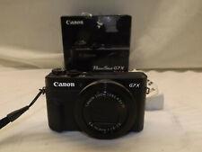 Canon G7X Mark II 20.1 MP Compact Digital Camera - Black