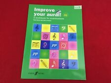 Improve Your Aural - Grade 2 - With CD -  By John Lenehan - Book