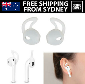 1 Pair of AirPod Ear Hook Holders for Apple AirPods Earphones Cover Case