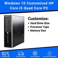 Windows 10 Customised HP Core i5 Quad Core 16GB / 8GB DDR3 Desktop PC Computers