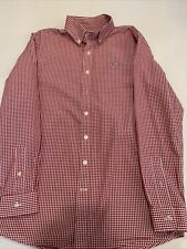 Vineyard Vines Long Whale Shirt Res Stripped Boys Size Large