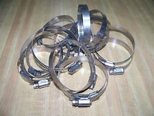 """Lot of (15) Murray #48 Hose Clamps 2 & 9/16"""" - 3 & 1/2"""" 300 Stainless Steel"""