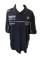 Tyco BMW Motorrad Racing Blue Polo TShirt size XL chest 46