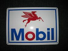 Mobil Motor Oil metal sign Service Station gas GASOLINE