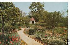 America Postcard - The Flower Garden at Mount Vernon, Virginia  CC249