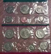 1980 P & D Mint Set Brilliant Uncirculated US Coins In OGP With Envelope & COA