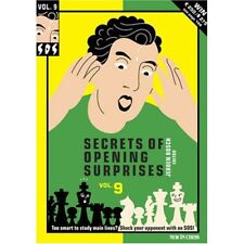 SOS. Secrets of Opening Surprises 9. New in Chess. BOOK