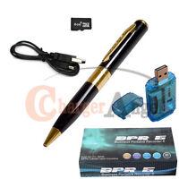 16GB Gold HD Spy Pen Camera DVR Audio Video Recorder Camcorder Mini DV 1280*960