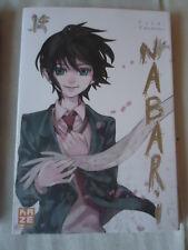 //NEUF ** Nabari ** Vol.14 KAMATANI Yûki KAZE MANGA VF NINJA COMBAT LIVRE SHONEN