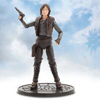 """Disney Store Star Wars Rouge One Jyn Erso Elite Series Die Cast Action Figure 6"""""""