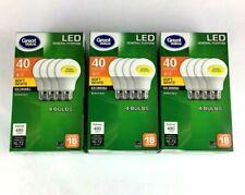 12 Pack LED 40W = 6W Soft White 40 Watt Equivalent Light Bulb