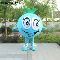 2020 blueberry Mascot Costume Suits Cosplay Party Game Dress Outfits Clothing Ad