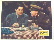 "Tyrone Power * Thomas Mitchell in ""This Above All""  1942 with Joan Fontaine"
