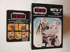 Vintage Star Wars Clipper/Meccano 1983 ROTJ mtv-7 Multi Terrain Vehicle En parfait état, dans sa boîte scellée RAR