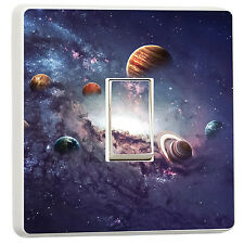 Stunning universe solar system stars light switch cover (50430104)