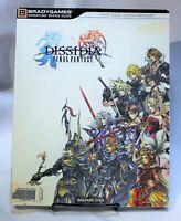 Dissidia Final Fantasy Strategy Guide Hint Book Brady Games Square Enix