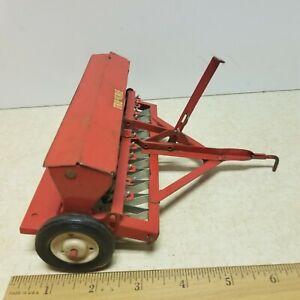 Toy  Carter Tru Scale IH  Pull Type Grain Drill Seeder Farm Toy 1/16 # 2