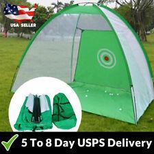 Golf Training Target Practice Net Tent Hitting Cage Outdoor Waterproof Driving