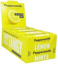 Peppersmith Xylitol Citron Menthes – 12 Poche Paquets - sans Sucre
