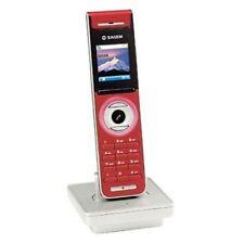 RARE ! COMBINE SUPPLEMENTAIRE TEL DECT ECRAN 4096 COULEURS SAGEM D86H ROUGE !