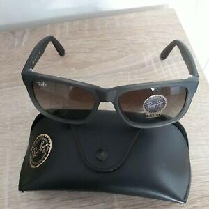 Ray Ban Sonnenbrille Kultbrille Justin 4165  RB 4165 - 54-16 /Farbe. Anthrazit
