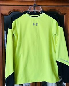 UNDER ARMOUR ColdGear Infrared Grid Fitted LS Boys Performance Shirt SZ Youth XL