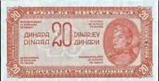 Yugoslavia - 20 Dinara 1944 (no serial)