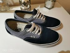 Vans Unisex Mens US Size 9.5 (UK 8)Women's US 11 (UK 9) Navy Suede Trainers